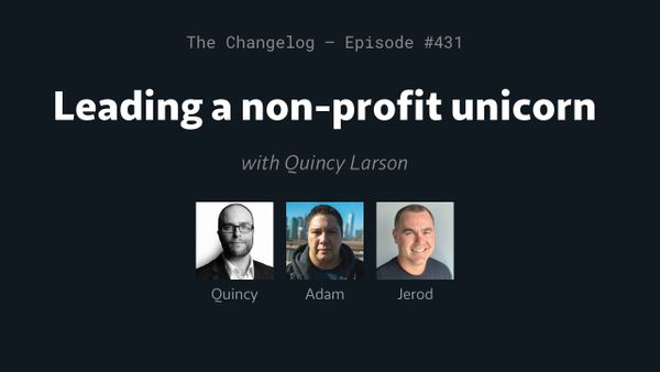 Quincy Larson Talks Data Science on The Changelog Podcast
