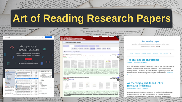 Image for How to Read a Research Paper – A Guide to Setting Research Goals, Finding Papers to Read, and More