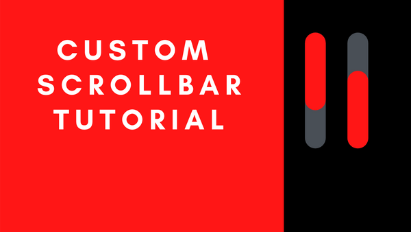 Image for CSS Scrollbar Styling Tutorial – How to Make a Custom Scrollbar