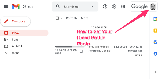 Gmail Profile Picture – How to Add, Remove, or Change your Photo in Google Mail